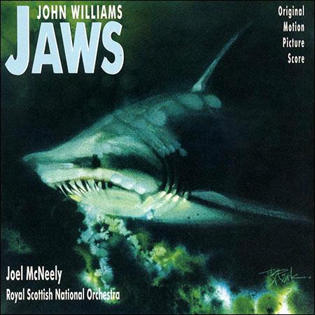 Обложка к альбому - Челюсти / Jaws (Varèse Sarabande - VSD-6078)