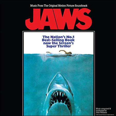 Дополнительная обложка к альбому - Челюсти / Jaws (Intrada Records INT 7145)