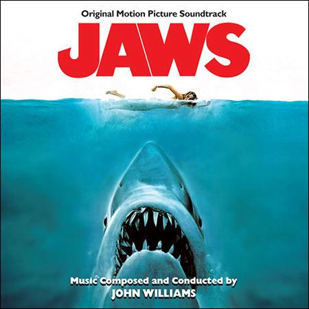 Обложка к альбому - Челюсти / Jaws (Intrada Records INT 7145)