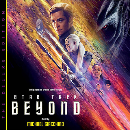 Front cover - Стартрек: Бесконечность / Star Trek Beyond (The Deluxe Edition)