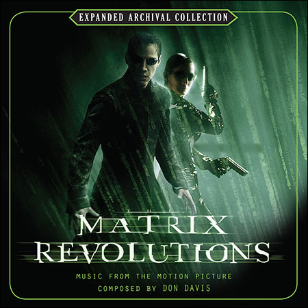 Front cover - Матрица 3: Революция / The Matrix Revolutions (Expanded Archival Collection)