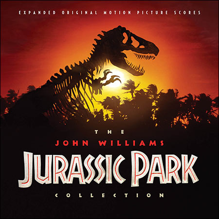 Front cover - The John Williams Jurassic Park Collection