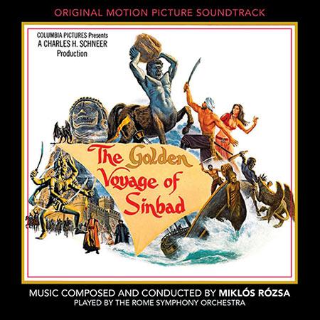 Обложка к альбому - Золотое путешествие Синдбада / The Golden Voyage of Sinbad (Intrada Edition)