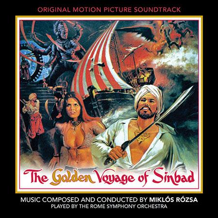 Дополнительная обложка к альбому - Золотое путешествие Синдбада / The Golden Voyage of Sinbad (Intrada Edition)