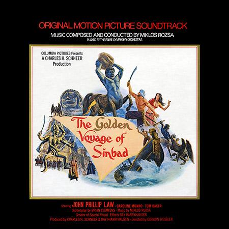 Обложка к альбому - Золотое путешествие Синдбада / The Golden Voyage of Sinbad (Vinyl Rip)