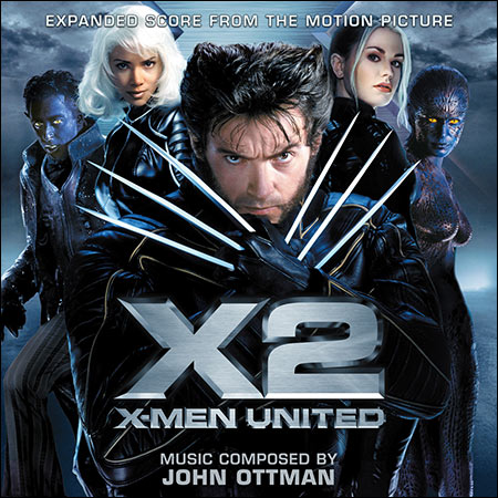 Front cover - Люди Икс 2 / X2: X-Men United / X-Men 2 (La-La Land Records)