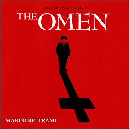 Обложка к альбому - Омен / The Omen (Marco Beltrami)
