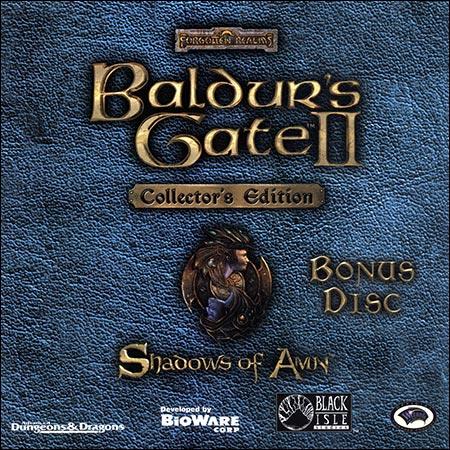 Обложка к альбому - Baldur's Gate II: Shadows of Amn