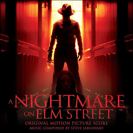 Front cover - Кошмар на улице Вязов / A Nightmare on Elm Street (by Steve Jablonsky)