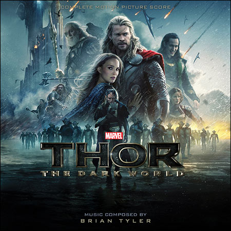 Front cover - Тор 2: Царство тьмы / Thor: The Dark World (Complete Score)