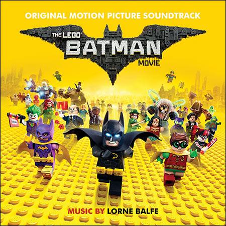 Обложка к альбому - Лего Фильм: Бэтмен / The Lego Batman Movie