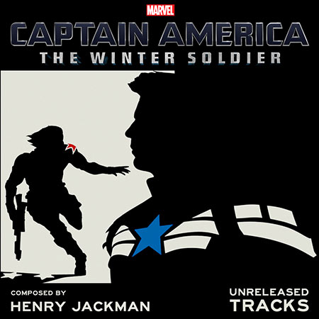 Front cover - Первый мститель: Другая война / Captain America: The Winter Soldier (Unreleased Tracks)