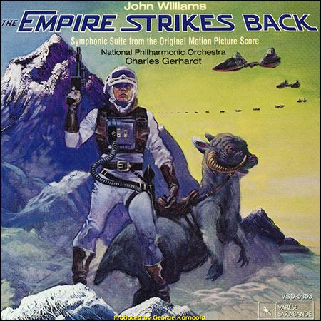 Обложка к альбому - Звёздные войны 5: Империя наносит ответный удар / Star Wars: Episode V - The Empire Strikes Back (Symphonic Suite)