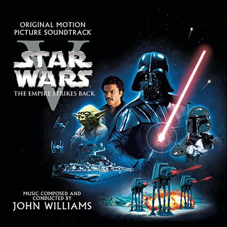 Обложка к альбому - Звёздные войны 5: Империя наносит ответный удар / Star Wars: Episode V - The Empire Strikes Back (Sony Classical - S2K 92951)