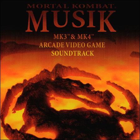Обложка к альбому - Mortal Kombat Musik: MK3 & MK4 - The Arcade Game