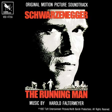 Обложка к альбому - Бегущий человек / The Running Man