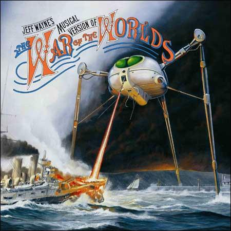 Обложка к альбому - Война миров / Jeff Wayne's Musical Version of the War of the Worlds
