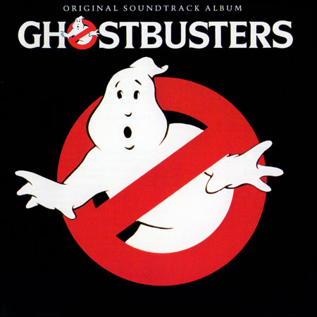 Обложка к альбому - Охотники за приведениями / Ghostbusters (1984 - OST - Remastered Edition)