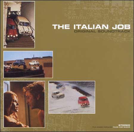 Обложка к альбому - Итальянская работа / The Italian Job (by Quincy Jones)