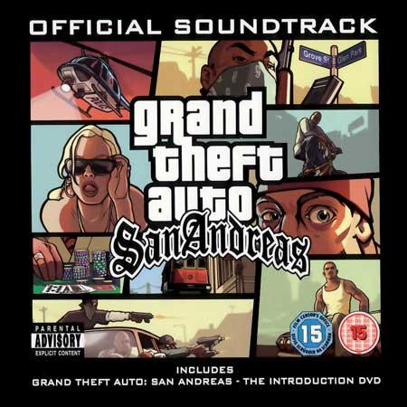 Обложка к альбому - Grand Theft Auto: San Andreas