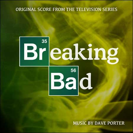 Обложка к альбому - Во все тяжкие / Breaking Bad (Score)