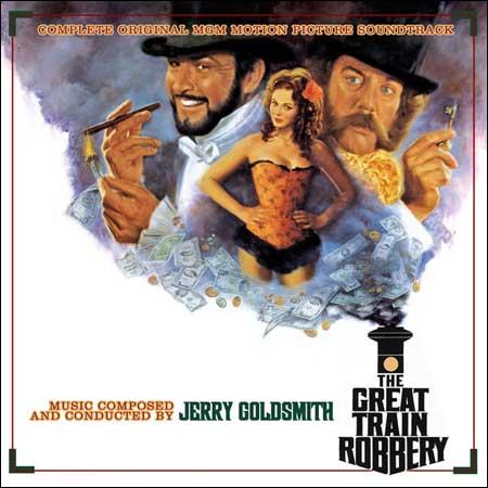 Обложка к альбому - Большое ограбление поезда / The Great Train Robbery (Intrada MAF 7115)