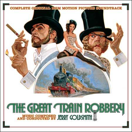Дополнительная обложка к альбому - Большое ограбление поезда / The Great Train Robbery (Intrada MAF 7115)