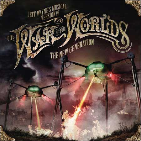 Обложка к альбому - Война миров / Jeff Wayne's Musical Version of the War of the Worlds - The New Generation