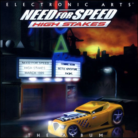 Обложка к альбому - Need For Speed IV: High Stakes - The Album