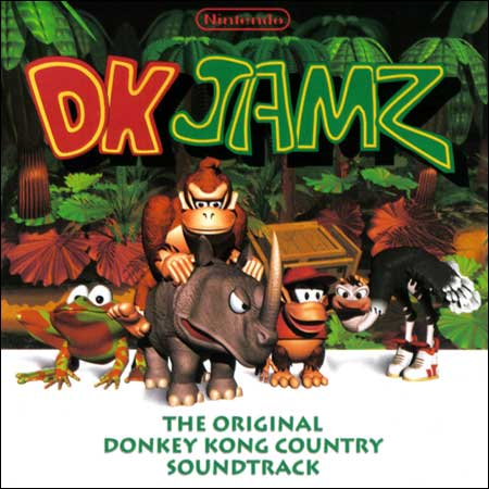 Обложка к альбому - DK Jamz: The Original Donkey Kong Country Soundtrack