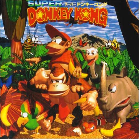 Обложка к альбому - Super Donkey Kong Game Music CD ~ Jungle Fantasy