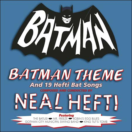 Обложка к альбому - Batman Theme and 19 Hefti Bat Songs