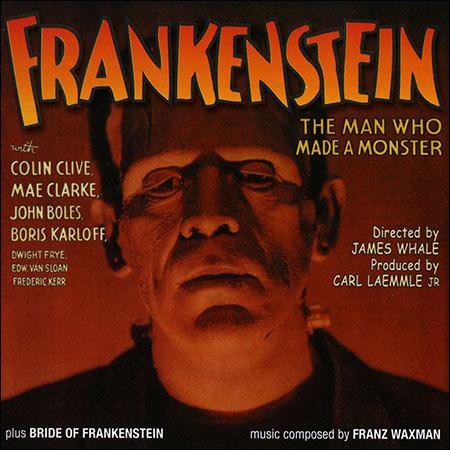 Обложка к альбому - Франкенштейн , Невеста Франкенштейна / Frankenstein , Bride of Frankenstein