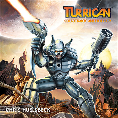 Обложка к альбому - Turrican Soundtrack Anthology: Vol. 1, Vol. 2
