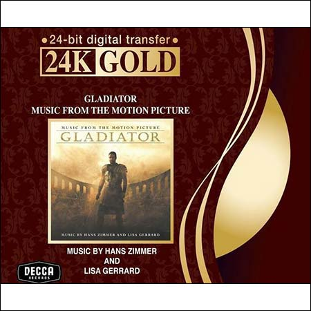 Обложка к альбому - Гладиатор / Gladiator (by Hans Zimmer - 24K Gold / 24-bit digital transfer)