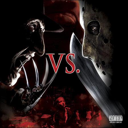 Обложка к альбому - Фредди против Джейсона / Freddy vs. Jason (OST)