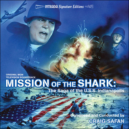 Дополнительная обложка к альбому - Remo Williams , Mission of the Shark: The Saga of the U.S.S. Indianapolis