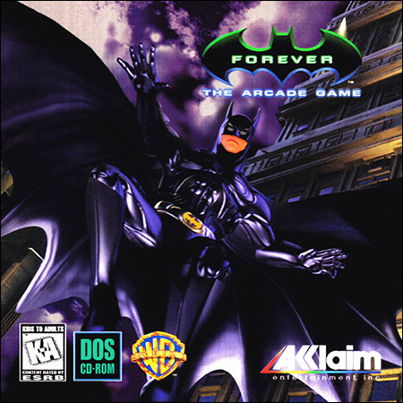 Обложка к альбому - Batman Forever: The Arcade Game (PC)