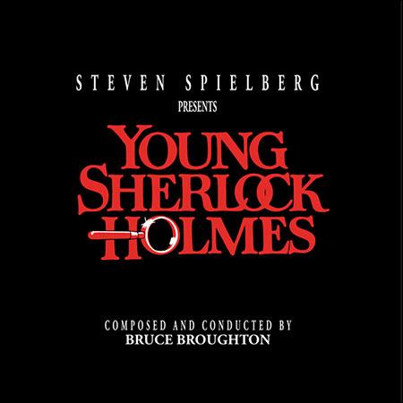 Дополнительная обложка к альбому - Молодой Шерлок Холмс / Young Sherlock Holmes (Intrada MAF 7131)