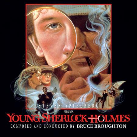 Обложка к альбому - Молодой Шерлок Холмс / Young Sherlock Holmes (Intrada MAF 7131)