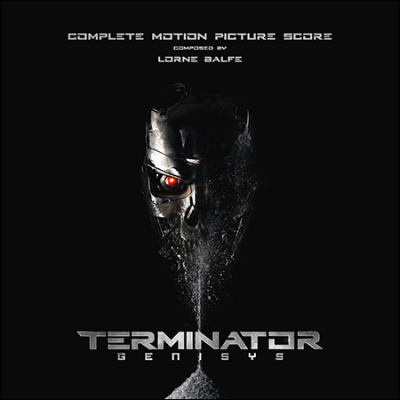 Обложка к альбому - Терминатор: Генезис / Terminator Genisys (Complete Score)