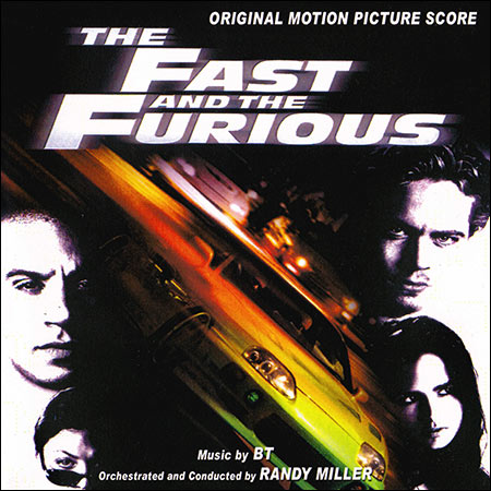 Обложка к альбому - Форсаж / The Fast and the Furious (Score)