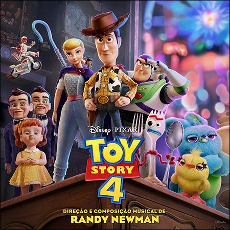 Обложка к альбому - История игрушек 4 / Toy Story 4 (Portuguese Edition)