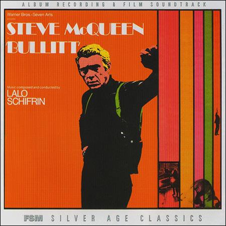Обложка к альбому - Детектив Буллитт / Bullitt (Film Score Monthly - 2009)