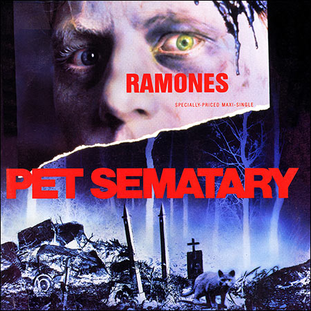 Обложка к альбому - Ramones - Pet Sematary