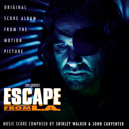 Обложка к альбому - Побег из Лос-Анджелеса / Escape from L.A. (Score)