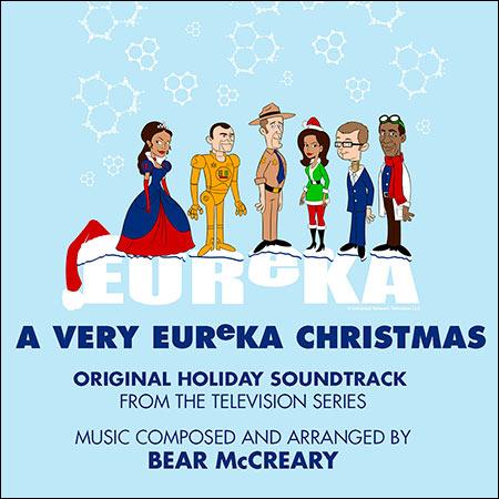 Обложка к альбому - Эврика / EUReKA - A Very EUReKA Christmas