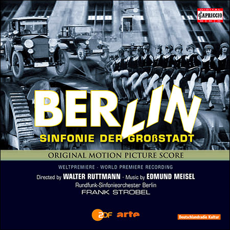 Обложка к альбому - Берлин - симфония большого города / Berlin - Die Sinfonie Der Großstadt